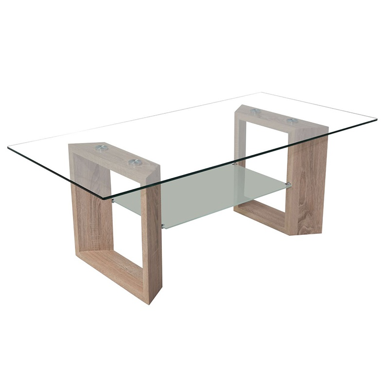 decor and design coffee tables_0004_Supreme Stature Glass & Wood Coffe Table